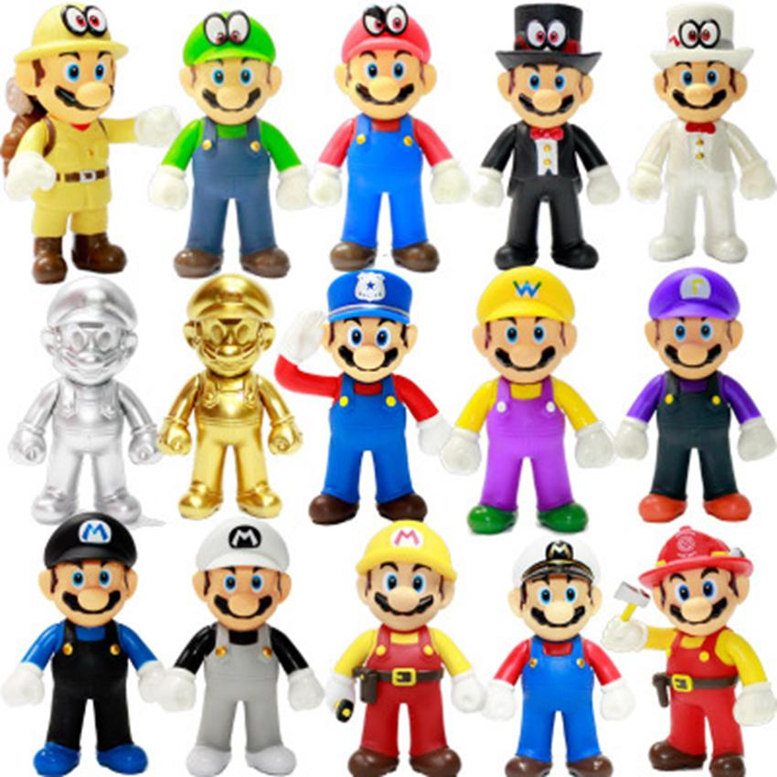 2019 Super Mario Bros Stand Luigi Mario Plush Toys Soft Stuffed Anime Dolls For Kids Gifts Super Mario Plush Toys Zza1186 From B2b Life 0 02