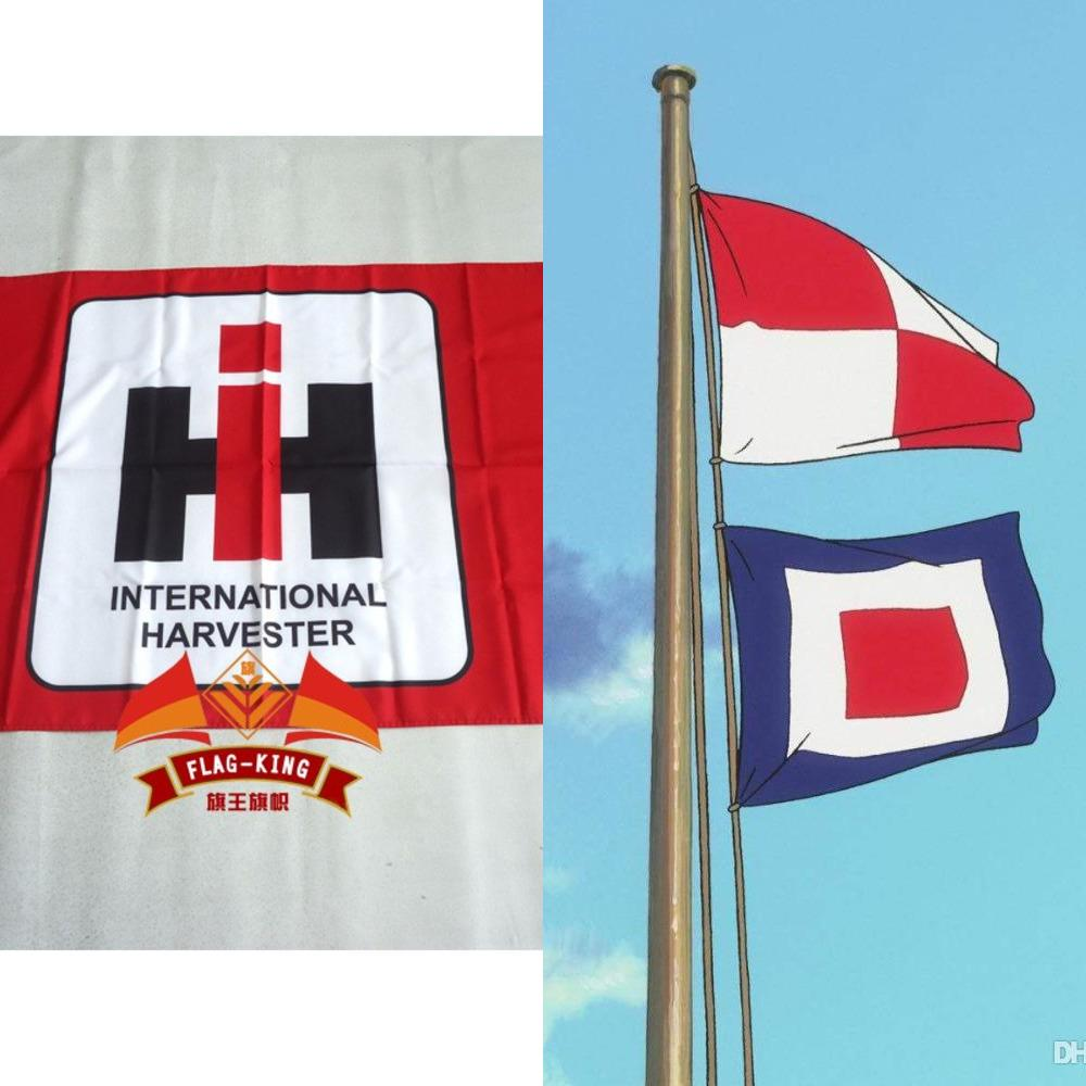 Racing 3x5ft Banner Flag for International Harvester Banner Flags Indoor Decor