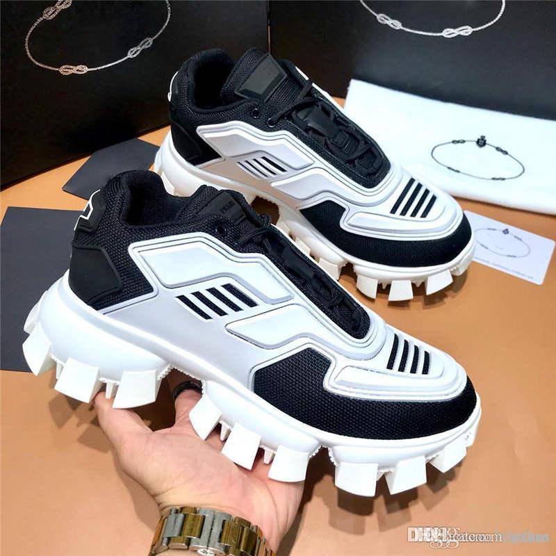 Qualität Mens 20Designer shoesCloudbust Donner stricken Turnschuhe Gummisohle Plattform Turnschuhtrainer lässige Schuhe 20ssKonstrukteur