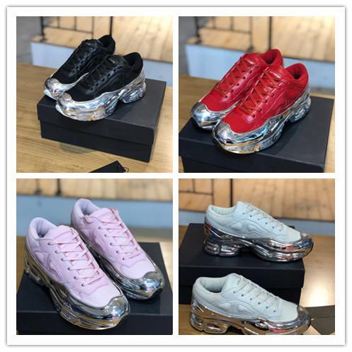 scarpe da donna Tempo libero Walking calda scarpe casuali di cuoio di modo delle donne di vendita superiore qualità confortevole Calzature con scatola 35-40 Sneakers Designer
