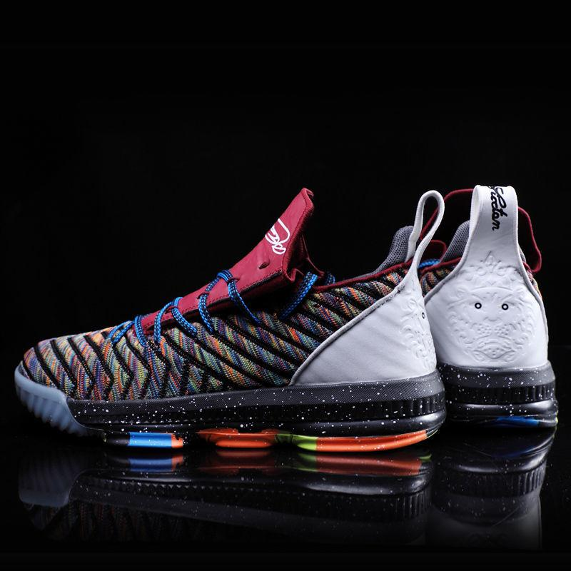 James Basketball Chaussures Hommes Lebron High Top Basketball Chaussures Hommes formation Bottines Outdoor Hommes Colorful Chaussures de sport unisexe T191214