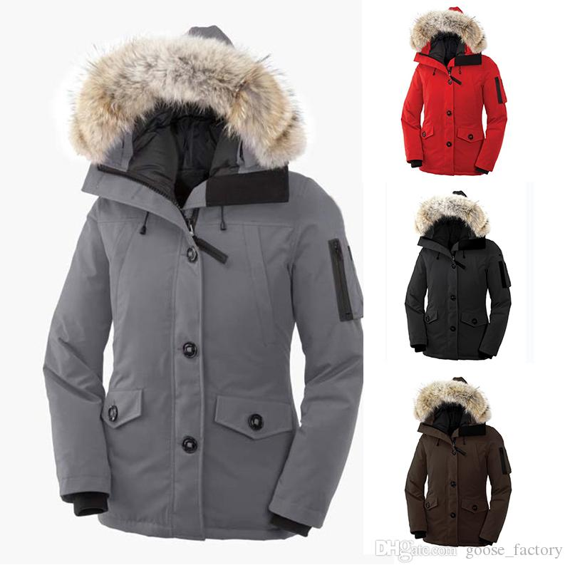 Womens Designer Winter Coats Wolf Hair Winter Jackets Women Casual Thickening Warm Down Clothes Women Goose Down Jacket Winter Coat