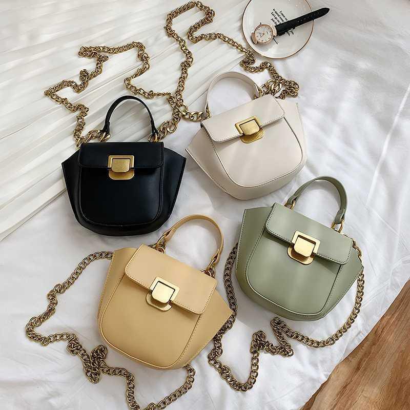 PU-Leder-Umhängetasche-Beutel für Frauen 2020 Mode Kleine Tasche Weibliche Handtaschen und Geldbörsen Reisetaschen mit Handgriff