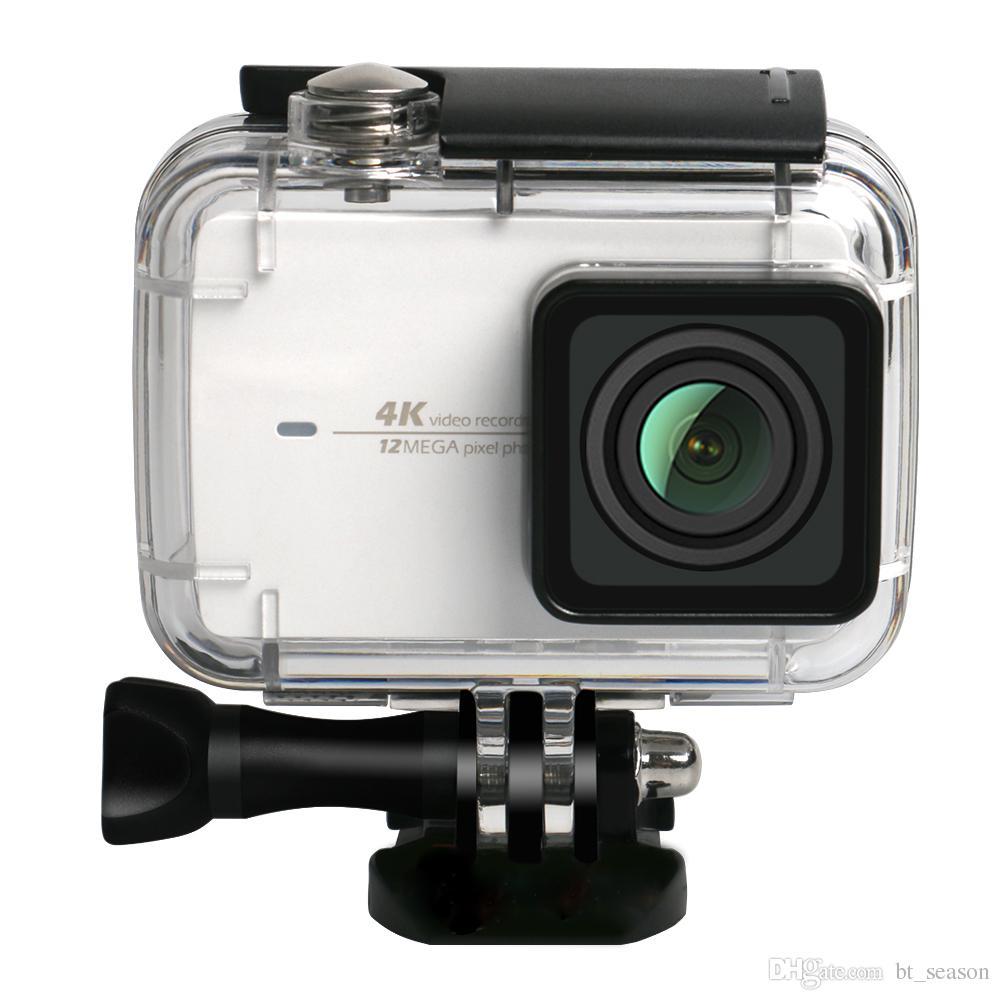 Diving Protective Housing Waterproof Case 40m for Xiaoyi 4K Xiaomi II / Yi Lite Action Camera with Bracket
