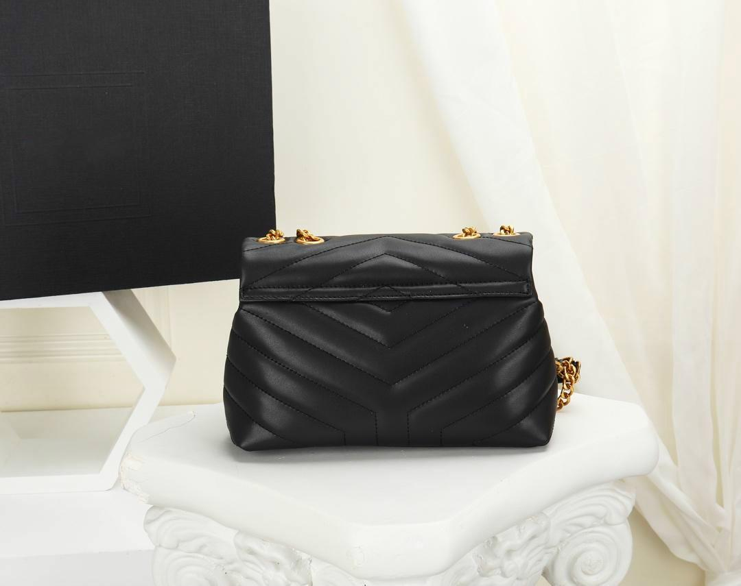 freies Verschiffen Klappentasche Glattleder Hardware-Softshell-Taschen breit Gestehungskosten verkaufen Designer-Handtasche Mode Luxus Schultertaschen