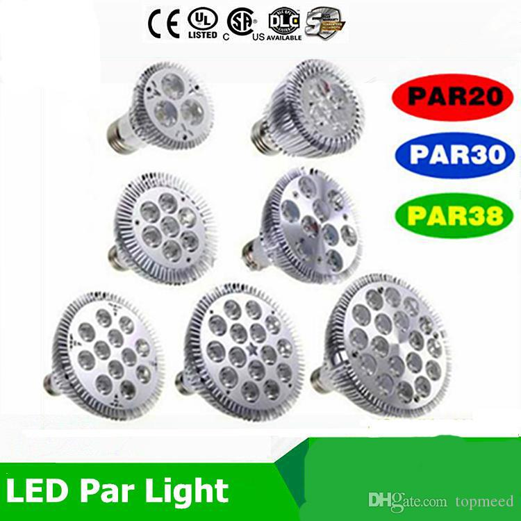 Затемняемая светодиодная лампа par38 par30 par20 9W 10W 14W 18W 24W 30W E27 par 20 30 38 LED Lighting Spot Lamp light downlight
