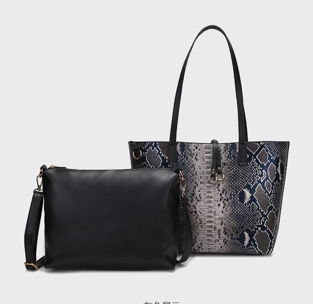 Luxury Handbags Tote Bag Serpentine Pattern Messenger Shoulder Bag