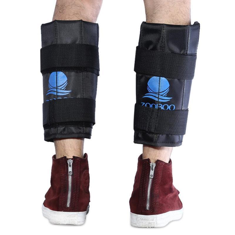Zooboo 1 çift 8 kg ayarlanabilir Ayak Bileği bacak egzersiz Eğitim Ekipmanları Eğitim destek Ağırlık kayış gücü spor