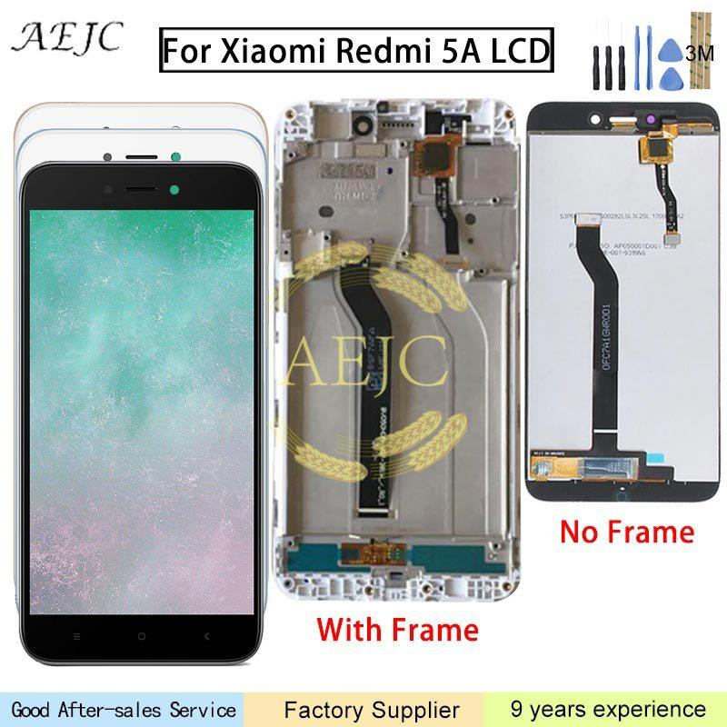 5.0 pollici per lo schermo Xiaomi redmi LCD Touch 5A sostituzione Assembly Digitizer per display LCD redmi 5A