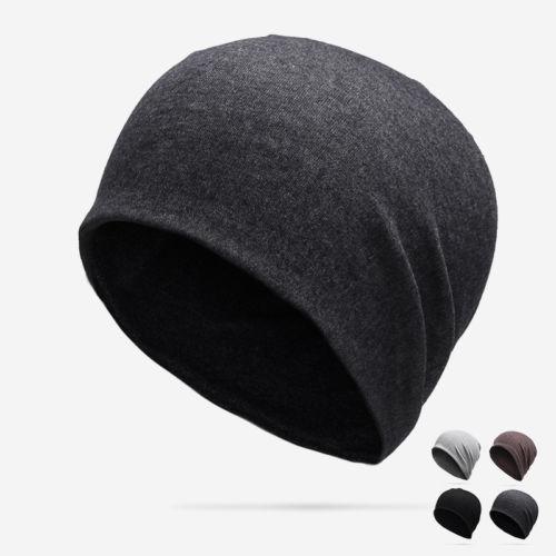 Casual Hommes Coton récent hiver Slouch crâne Oversize long Bonnet Femmes Baggy Cap Ski Hat