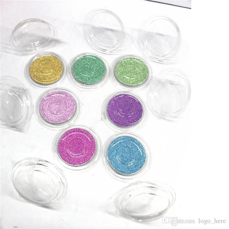 Cils Paquet Boîte Transparent Cils Ronds Boîtes avec Carte Nouveau Matériel Cosmétiques Paquet Vide Boîte De Maquillage Outils R0135