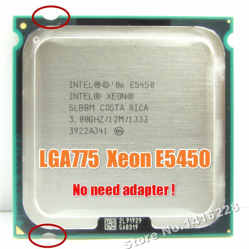 رخيصة وحدات المعالجة المركزية زيون E5450 المعالج 3.0GHz 12M 1333MHZ يساوي أعمال إنتل Q9650 على LGA 775 اللوحة الأم لا حاجة إلى محول