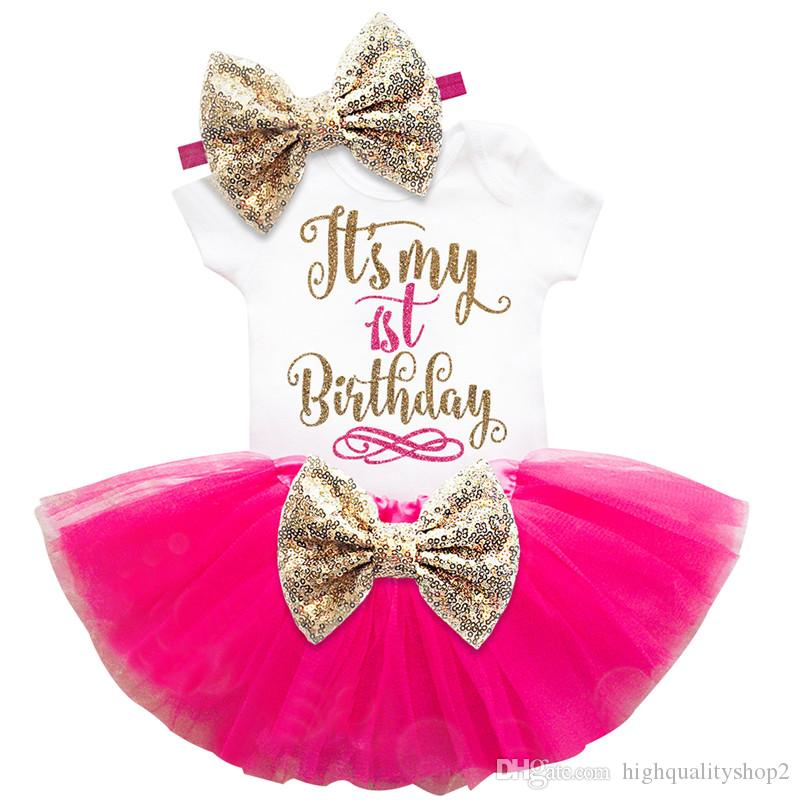 Astonishing 2020 Kids Designer Clothes Girls 1St 2Nd Birthday Cake Smash Personalised Birthday Cards Akebfashionlily Jamesorg