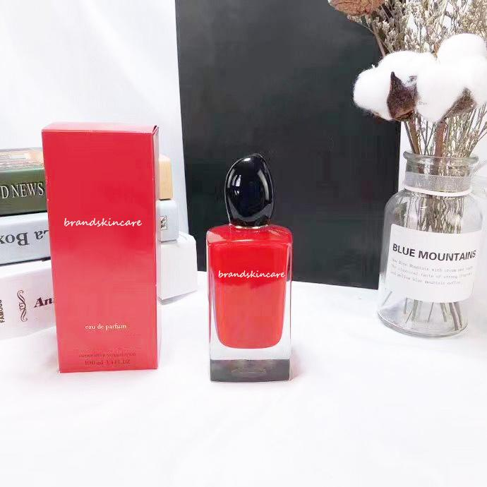 Hot Selling High-End Women Perfume 100ml EDP Red Passione Spary Flower Frangrace Long Lasting Smell Free Delivery