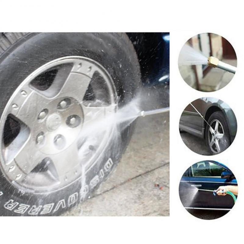 Yüksek Basınçlı Güç Su Tabancası Araba Jet Bahçe Yıkama Hortum Wand Nozul Püskürtme Sulama Yağmurlama Temizleme Aracı Araç Aksesuarları