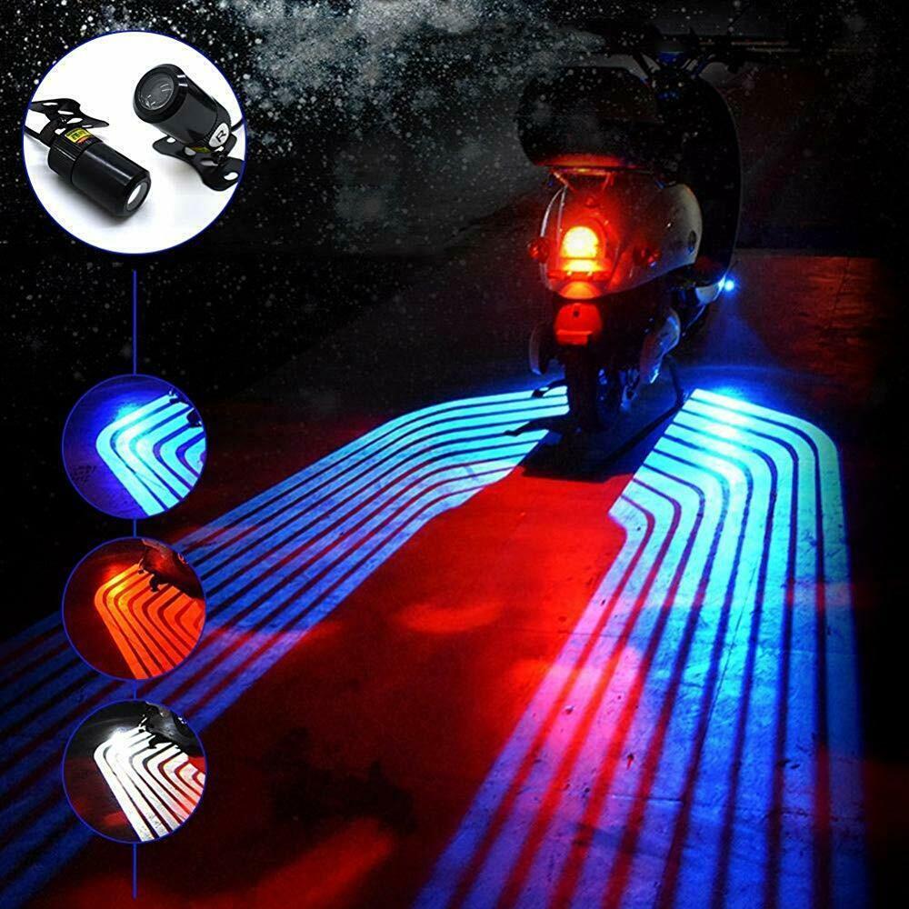 Moto Angelo Ali Kit di proiezione del kit di proiezione, sottoscocca Courtesy Ghost Shadow Lights Neon Ground Effect Lights