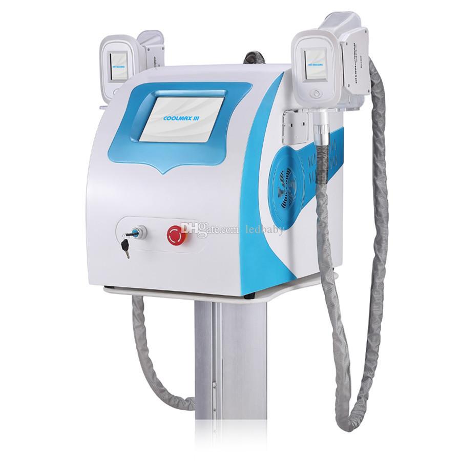 Новое тучное замораживание уменьшая оборудование красотки аппаратуры потери веса Cryolipolysis ручки Cryotherapy 2 личной пользы замерзая