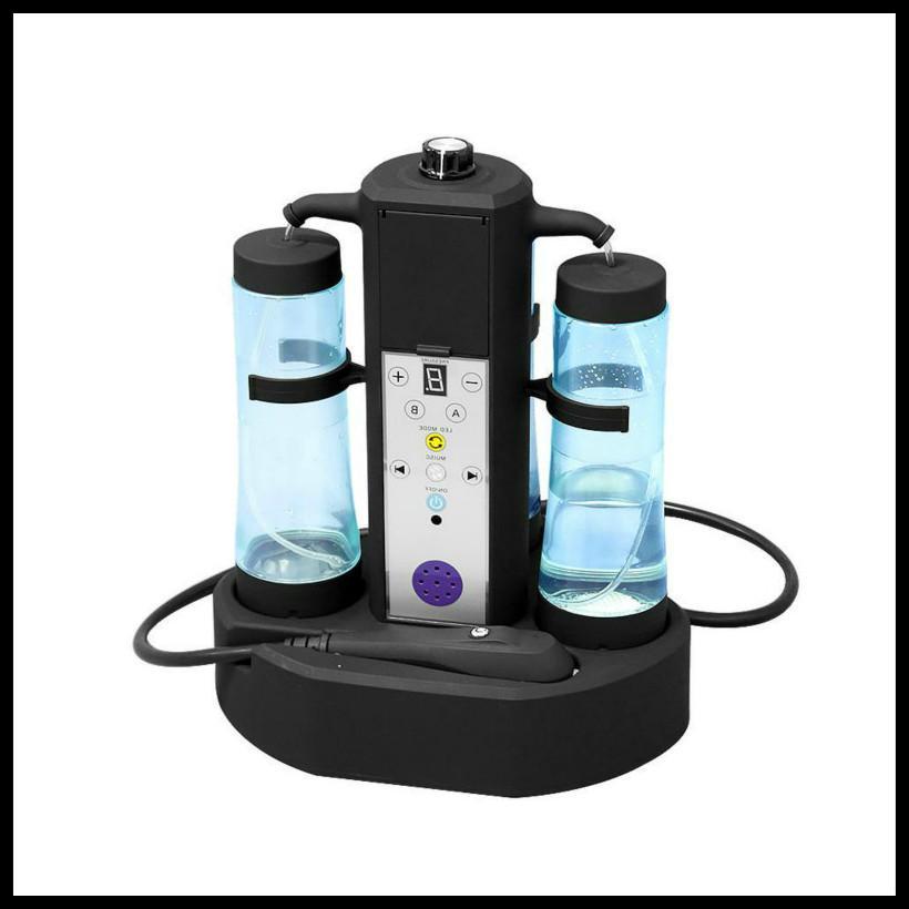 2019 Nuevo portátil de hidrógeno burbuja Cuidado de la piel del agua de limpieza dermoabrasión facial de belleza facial cuerpo de la máquina microdermabrasión Equipo