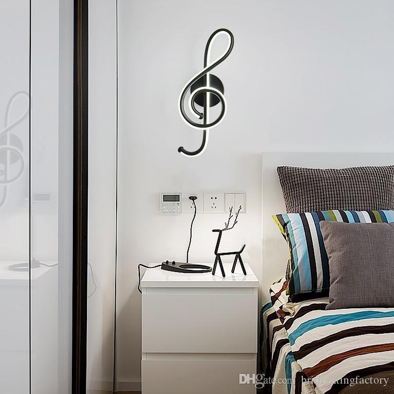Postmodern led Duvar Işık Yaratıcı Dekoratif Duvar Lambası Yatak Odası Başucu led Işık Oturma Odası Banyo Aynası led Işık Nordic Lamba ev için