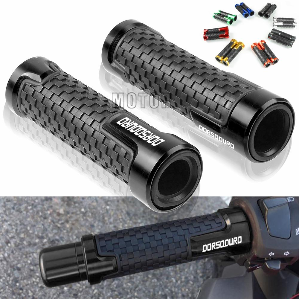 CNC Aluminum Alloy and Rubber Antiskid Handlebars Hand Grips 7//8 inch Motorcycle Handlebar Grips red