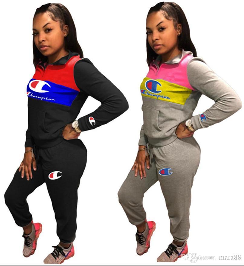 Женские дизайнерские наряды с капюшоном + леггинсы из 2 шт