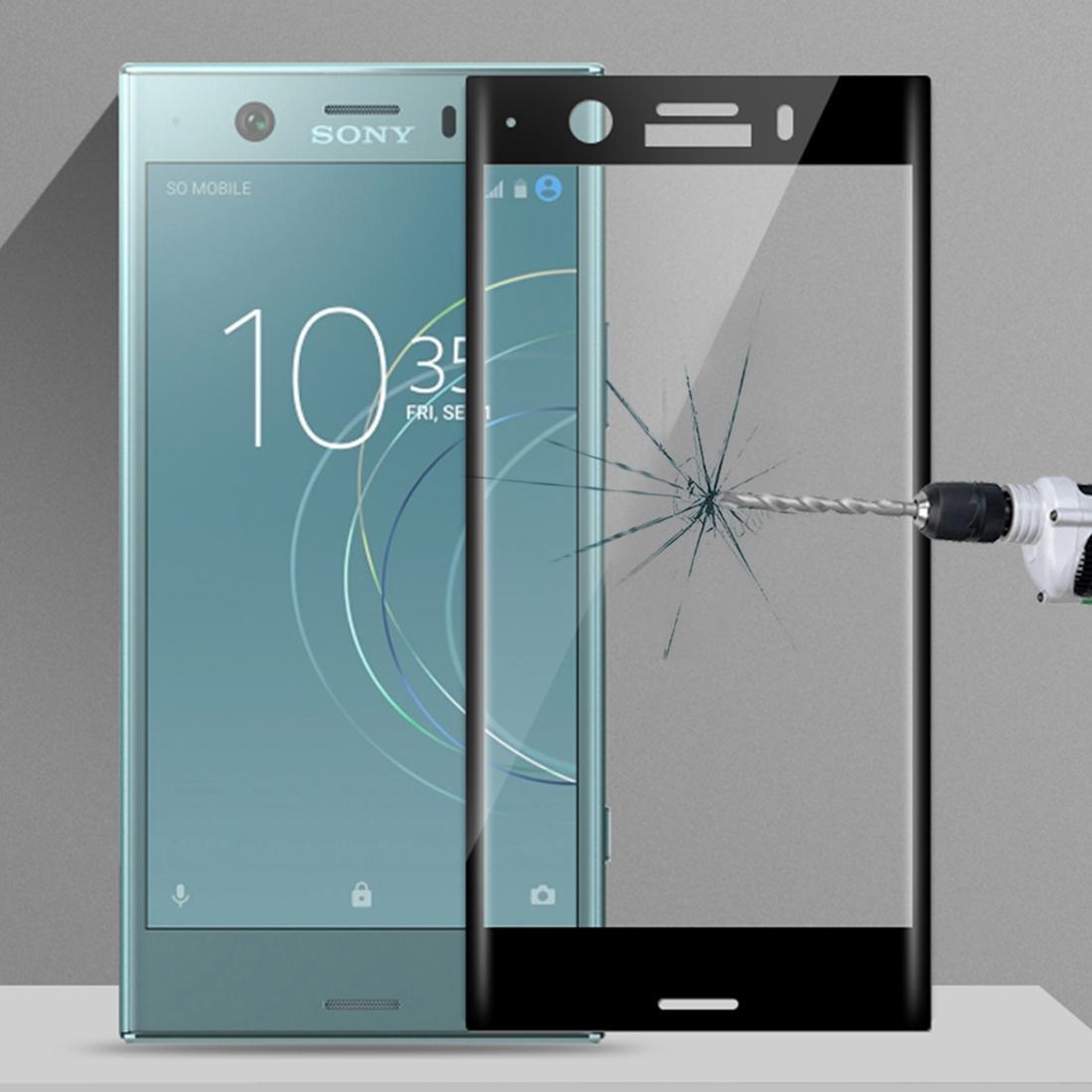 MOFI para la pantalla de Sony Xperia XZ1 compacto / XZ1 Mini ultrafino 3D curvo de cristal protector de la película
