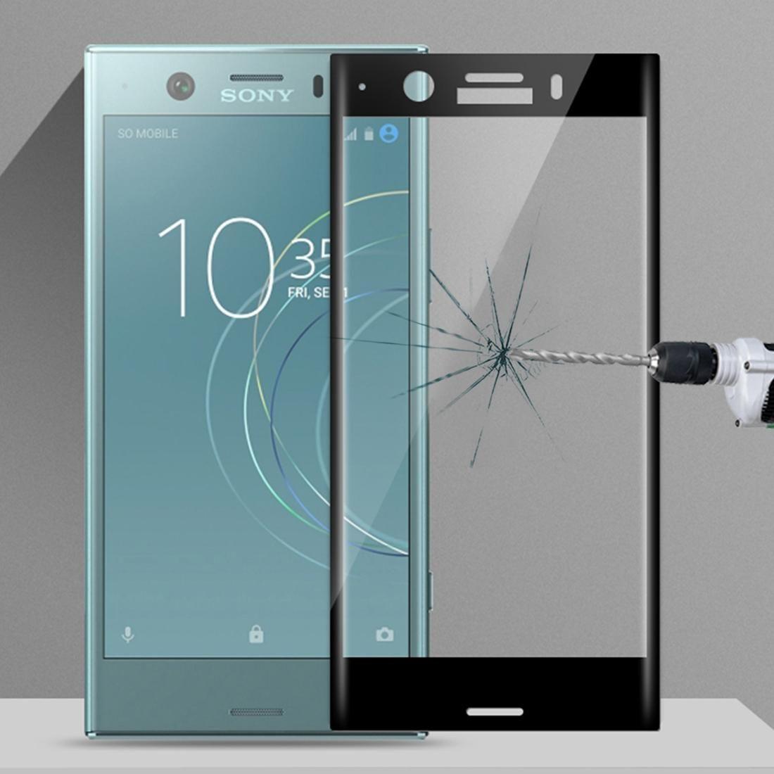 MOFI для Sony Xperia XZ1 Compact / XZ1 Mini Ультратонкий 3D Изогнутые стекла пленка Screen Protector