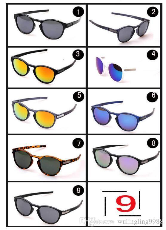 جديد موك = 10 قطع الصيف الرجال الرياضة نظارات الشمس القيادة نظارات شمسية دراجة الزجاج امرأة الأزياء في الهواء الطلق نظارات 9 ألوان شحن مجاني