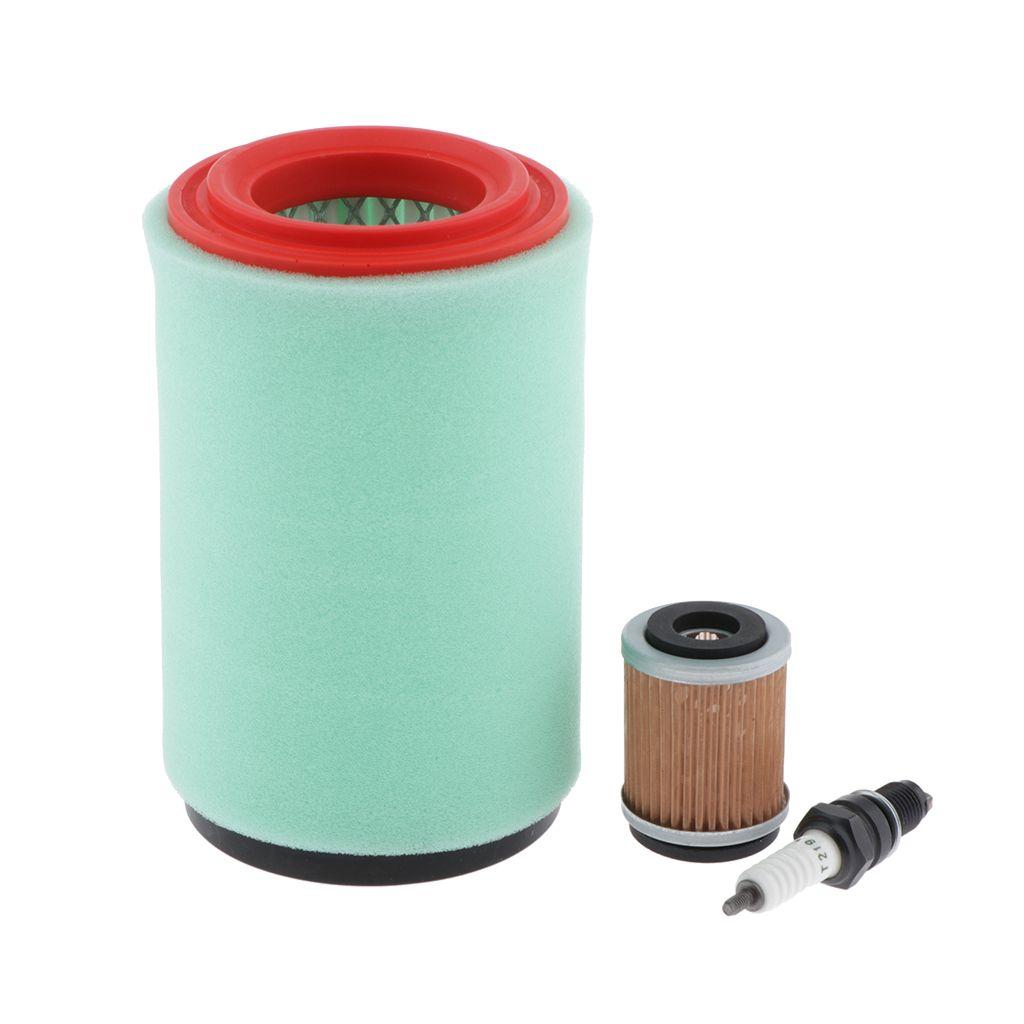 Tune Up Kit para Yamaha 250 Rastreador de Big Bear 250 400 Spark Plug filtro de aceite