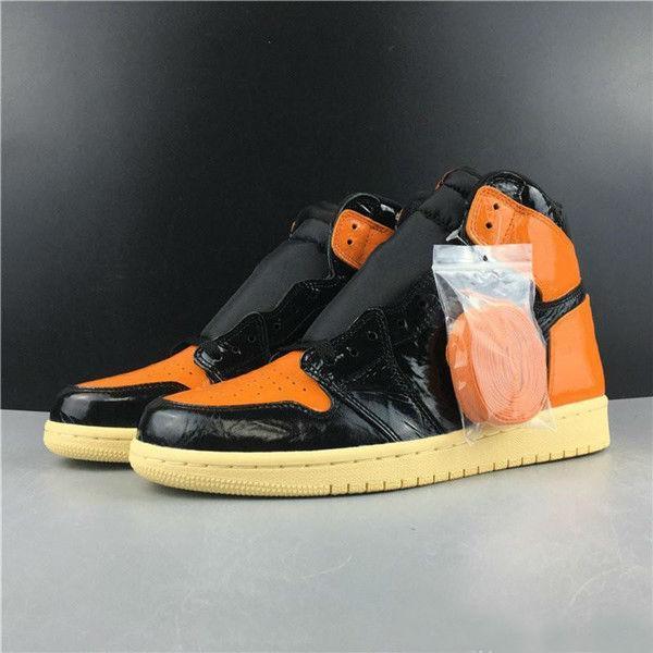 2020 nuovo arrivo 1 High Olimpiadi Shattered Tabellone 3.0 Nero Arancione scarpe da basket donne degli uomini 1s Sport Sneakers Hococal