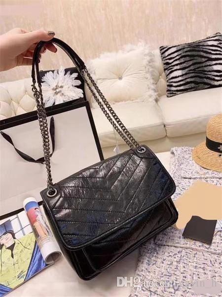 El diseñador de moda de alta calidad bolsos de lujo bolsos monedero famosas marcas de las mujeres del bolso de Crossbody bolso bolsos Bolsas Cera de piel de vaca de hombro