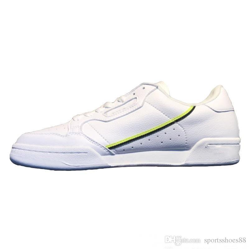 Acheter Kanye West Calabasas Powerphase Grey Continental 80 Chaussures De Sport Des Années 80 Aero Blue Core Noir OG Blanc Hommes Femmes Trainer