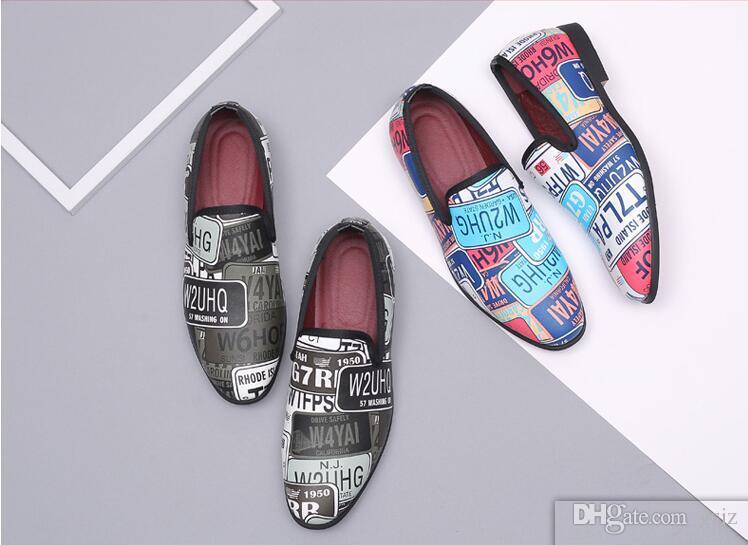 Moda di lusso da uomo Formale in pelle verniciata Scarpe a punta Business in pelle verniciata Oxford Dress Shoes Z218