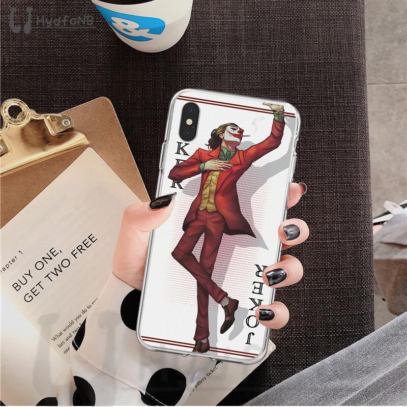 2020 Phone Case Poker King TPU macio para iPhone 11 pro XS MAX 8 7 6 6S Plus X 5 5S SE XR cobrir atacado
