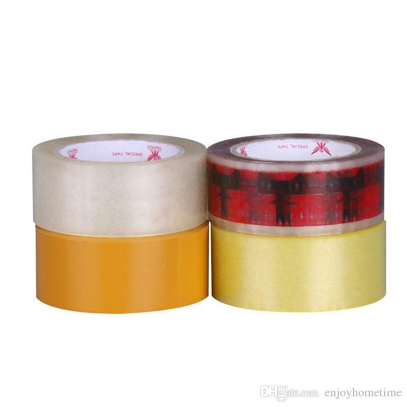 4.5 * 2.5cm Effacer Heavy Duty Ruban d'emballage Rubans adhésifs pour bureau Stockage et expédition Emballage Déménagement
