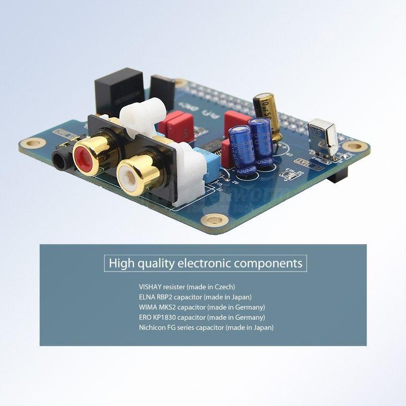 I2S HIFI PiFi DAC+PCM5122 Digital Audio Sound for Raspberry PI 3 Model B+//2B//3B