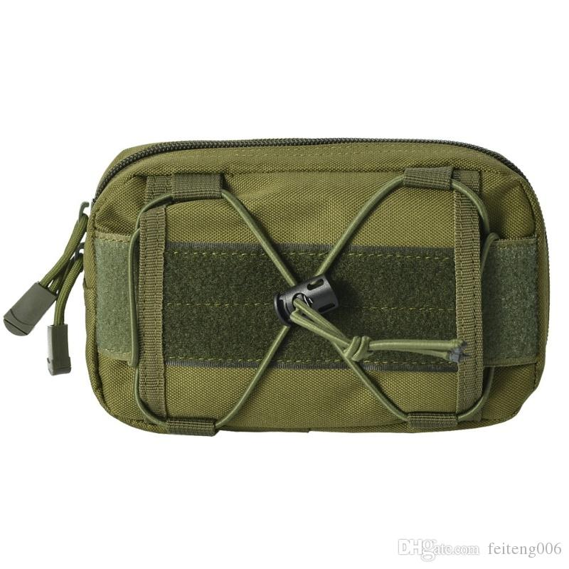 600D Tactical Bag Fishing Camping Waist Belt Bags Wallet Pouch Purse Outdoor Sport Molle Pouch Camping Hiking Bag #831753