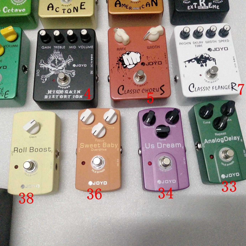 Clássico Pedal 5 guitarra do tipo Effect Escolha Analog Delay Chorus Efeito Pedal Distortion em stoc5