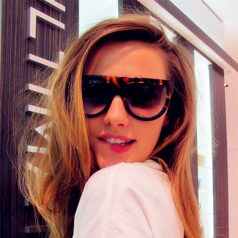 CORTINA Lunette De Doleil Oversize Praça Sunglasses Moda de Nova Plano Vintage Top Eyewear Para Outdoor Driving UV 400 Zonnebril