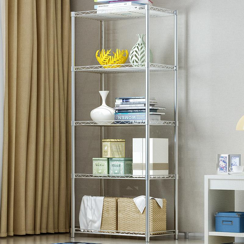 Regal Moderne Küche Storage Rack Nichtrostender Haushalt Finishing Regal Badezimmer Organizer Regale Für Sundries Wohnmöbel