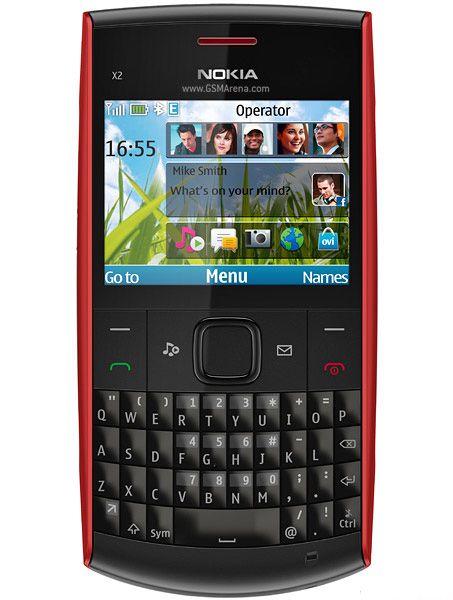 Réformé Nokia X2-01 2.4inch téléphone portable caméra GSM WCDMA déverrouillé téléphone batterie 1320mAh téléphone portable MP3 avec Retail Box