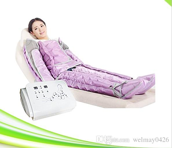 Salon taşınabilir hava basıncı bacak masajı spa detoks ince hava basıncı ayak masajı
