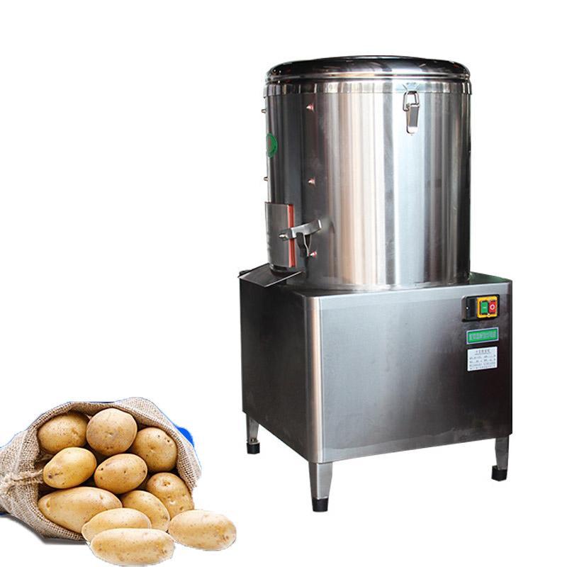 NEW ARRIVEL Vollautomatische Haut Industriefruchtgemüseschäler elektrische Kartoffel-Karotten schälen Waschmaschine / Maniok Schäler