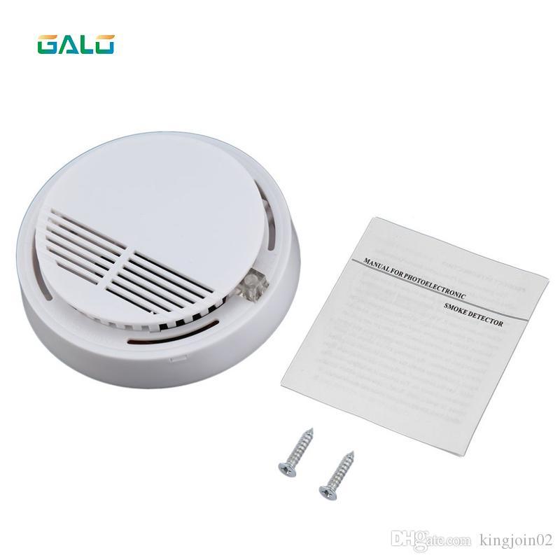 GALO Standal one كهروضوئية الدخان الانذار الاستشعار كاشف الدخان الانذار الحماية من الحرائق إنذار حساسية عالية لأمن الوطن
