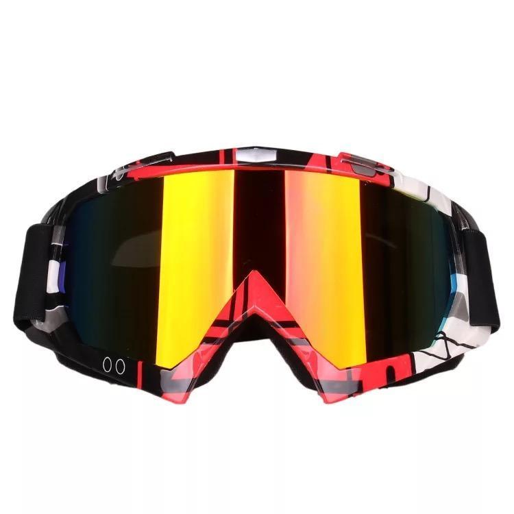 di vendita caldo moto occhiali trasparenti antivento esterna di sabbia occhiali casco di guida occhiali