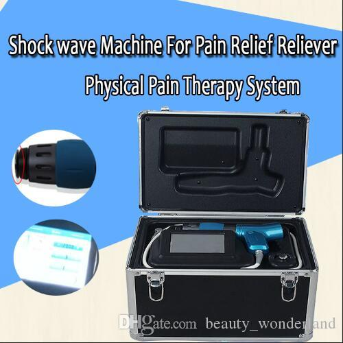 2019 Güncelleme Sürümü !!! 2000.000 çekim ile Ağrı kesici Rahatlatıcı İçin Fiziksel Ağrı Terapi Sistemi Şok dalga Makinesi