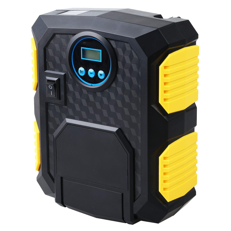 Digital Tire Inflator DC 12 Volt Car Pump Portable LED Air Compressor Pump 150 PSI Car Air Compressor for Car Motorcycles Bicycles