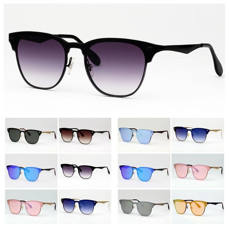 النظارات الشمسية الحريق الأزياء أعلى جودة رجل إمرأة نظارات قصر هلالية دي سولي مع حر الحالات الجلدية الأصلية، القماش، مربع، ملصقات!