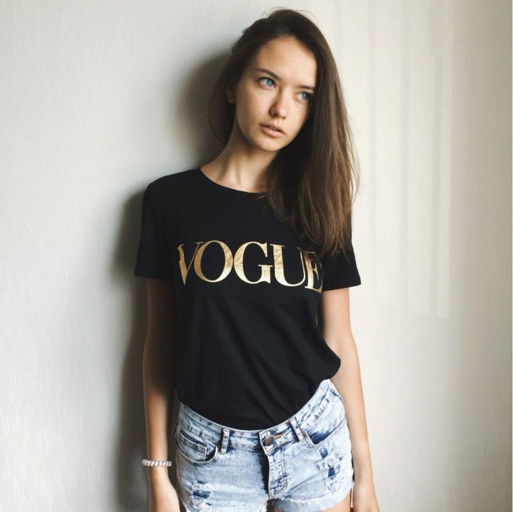 Designer Shirt Frauen-T-Shirt Mode-Druck-Sommer-T-Shirt Vogue gedruckte Frauen Tops T-Shirt Femme neue Ankunfts-heiße Verkaufs-Harajuku Weiblich