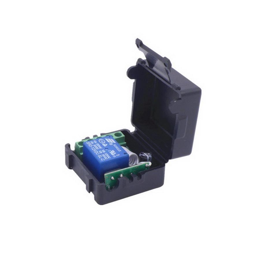 50PCS 433MHZ 범용 무선 원격 제어 스위치 DC 12V 1 채널은 수신기 모듈 3PCS RF 송신기 릴레이